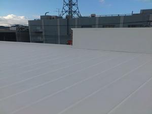 屋根 ガイナ塗装完了