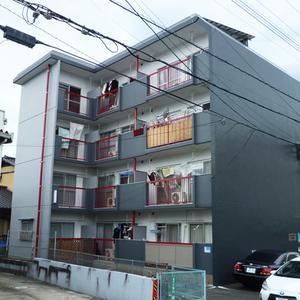 マンション外壁塗り替え(福岡市南区/平成27年3月完工)サムネイル